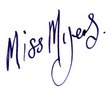 Signature Miss Myers