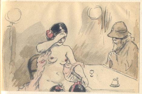 Adolphe Willette: Madeleine, 1920.